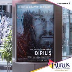 Leonardo Dipacrio, The Revenant - Diriliş filmiyle Oscar'ı alır mı, almaz mı? Karar vermek için Taurus AVM Cinemarine'e!  Seanslar için:  www.cinemarine.com.tr/place/CINEMARINE_TAURUS