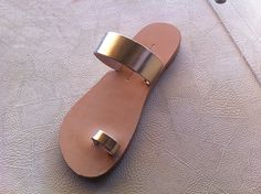 leather sandals handmade sandals gold leather by chicbelledejour