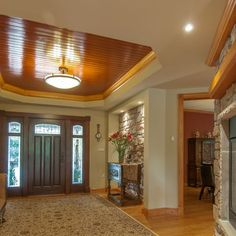 Foyer of renovated rambler | Residence in Falls Church, Virginia | Ballard Mensua Architecture