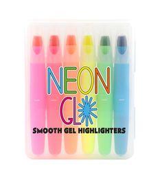 Neon Glo Gel Highlighters
