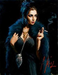 Fabian Perez Fine Art Reproductions paintings,here you can find the best price paintings. Illustrations, Illustration Art, Pin Up, Top Paintings, Up In Smoke, Shadow Art, Oil Painting Reproductions, Drawing, Oil Painting On Canvas