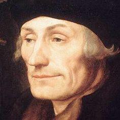 Desiderius Erasmus.                                          Filosoof, priester, auteur en humanist.