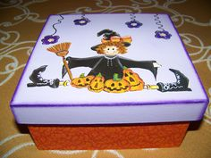 caixa halloween
