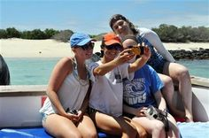 Vacation selfies: Teens love 'em, parents not so much