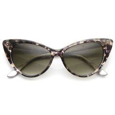 609b889820fe Womens Retro Mod 1950's Version Hot Tip Pointed Cat Eye Sunglasses 9145  from zeroUV 9,