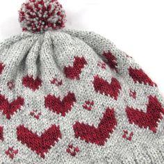 V is for Valentine Pom Pom Hat | Craftsy