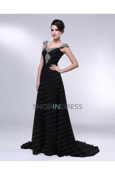 c409ea2370 Mid Back Sleeveless Pleated Thin Long Floor Length Scoop Natural Waist  Mother Of The Bride Dress. Black Evening ...