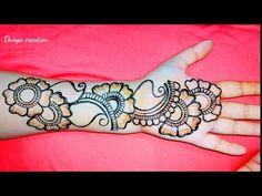 Mehndi Designs For Kids, Full Hand Mehndi Designs, Mehndi Designs Book, Arabic Mehndi Designs, Arabic Henna, Henna Mehndi, Mehendi, Mehndi Desighn, Heena Design