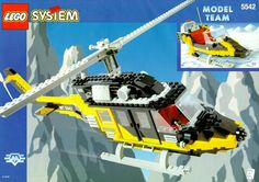 LEGO 5542 Black Thunder instructions displayed page by page to help you build this amazing LEGO Model Team set Lego Christmas Sets, Classic Lego, Black Thunder, Lego Clones, All Lego, Vintage Lego, Lego Models, Lego Projects, Lego Instructions