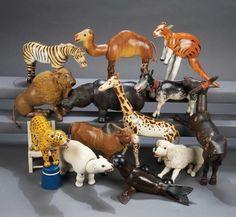The Legendary Spielzeug Museum of Davos: 225 Thirteen Wonderful American Wooden Glass-Eyed Circus Animals by Schoenhut