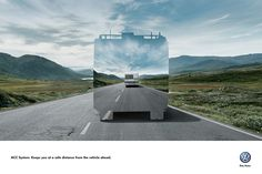 Adeevee - Volkswagen ACC System: Keeps you at a safe distance
