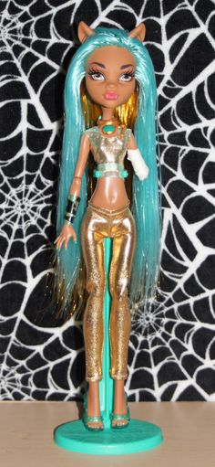 Isis+Monster+High+custom+ooak+doll+reroot+by+mythicalmommy1717,+$65.00