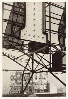 Signs, New York City, 1928–29. Photo by Walker Evans