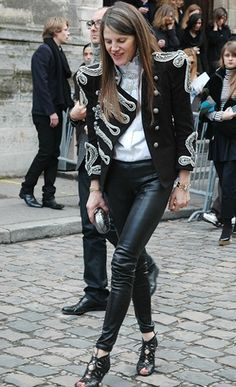 Anna Dello Russo overstated everything and I love it
