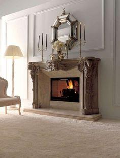 ceramic fireplace decorating plans - Iroonie.Com