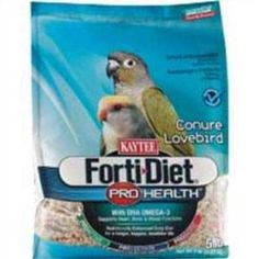 Kaytee Forti Diet Pro Health Food for Conure and Lovebird, 5-Pound: Bird Food