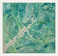 The Artistic Stamper - Leafing It I have been experimenting and playing ( well working really! ) with my Gelli plate this week, in readiness for a workshop I am teaching on Saturday. I love this medium, partly because printing of any kind, be it on fabric, paper, or making lino prints, was my favourite medium at school  and later at art college. Wonder why I like stamping?! LOL