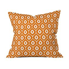 Grab some style tips from the '60s with this retro-inspired pillow case. Toss it…
