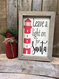 Nautical Christmas Decor Lighthouse Decor Coastal Christmas Cottage Decor Christmas at the Beach Decor Beach Christmas Ornaments, Coastal Christmas Decor, Nautical Christmas, Cottage Christmas, Christmas In July, Christmas Signs, Christmas Art, Coastal Decor, Christmas Decorations