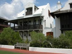 Brown Cottage, Rosemary Beach, FL Rosemary Beach, Beach Cottages, Tropical, Exterior, Mansions, House Styles, Brown, Home Decor, Mansion Houses