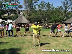 PWC Boeresport team building event in Midrand, facilitated and coordinated by TBAE Team Building and Events Team Building Events, Baseball Cards, Sports, Hs Sports, Sport