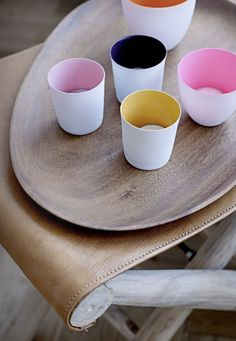 Nice set of cups and tray