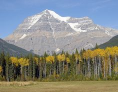 Mount Robson, Canadian Rocky, British Columbia, Canada