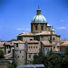 Ravenna - Basilica of San Vitale (c.500) and Mausoleum of Galla Placidia (c.430).