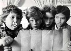The Goonies! I remember my mom had to buy this and The Sandlot  on VHS multiple times bc us kids watched them so much :)