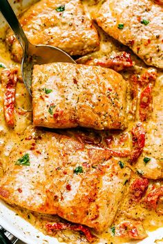 Salmon Dinner – The CREAMIEST, most FLAVORFUL salmon you will ever make.