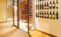 Wine cabinet of Park Hotel Mignon