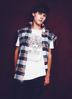 Experience poster T-Shirt £28 http://www.wornby.co.uk/mens/tees/experience-poster-t-shirt-ecru.html