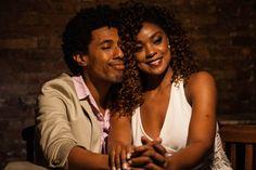 Milton Filho e Cris Vianna no musical Quando a gente ama