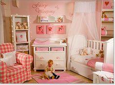 baby girl nursery - Buscar con Google