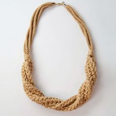Large Torq-Seven Necklace now featured on Fab.