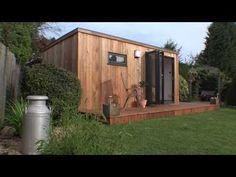 Home Office Garden Room - YouTube