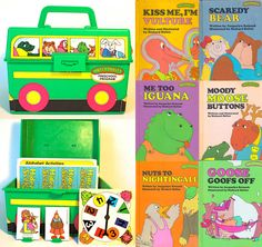 I so totally wanted this when I was little! I was one of those stupid kids that thought if we ordered it, the actual Sweet Pickles bus from the commercial would be the one to bring it right to my front door..LOL!! (As opposed to UPS or FEDex). Lmaoooo