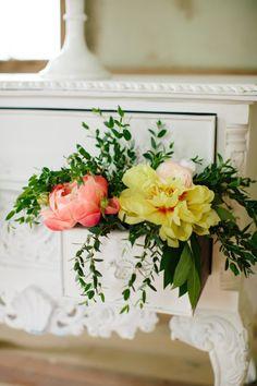 Wedding flowers: http://www.stylemepretty.com/virginia-weddings/2014/09/22/southern-secret-garden-inspiration-shoot/   Photography: Abby Grace - http://www.abbygracephotography.com/