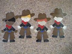 Cowboy Cricut Dolls