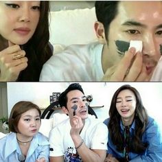 Celebrity stylist Kim Woo Ri shows the #seacret behind his perfect complexion with the M4 Magnetic Mud Mask! #korean #asian #skincare