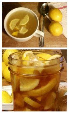 Honey lemon soother recipe.