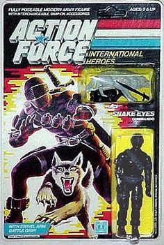 Action Force Snake Eyes