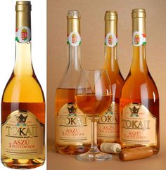 Magyarországi Tokaji borvidéken előállított Tokaji aszú / Tokaji aszú produced in the Tokaj wine region of Hungary