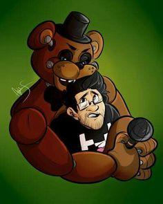 Markiplier and Freddy
