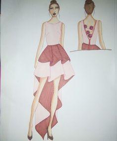 Fashion design by Vanessa Keng
