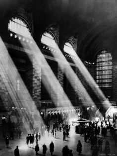 Stumbled upon this gorgeous photo of Grand Central Station, New York City. Poster at AllPosters.com