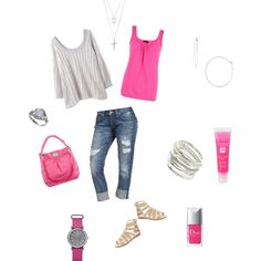 Pink!!, created by misty-capley on Polyvore