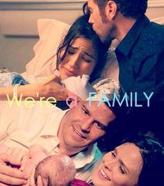 Angela+ Jack= Michel Bones+ Booth= Christen