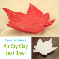 These little leaf clay bowls turned out great! This is such a fantastic little activity to do with your kiddies – or on  your own, much easier than it looks and they really do make the most special gifts!!! We used air dry clay as it is easy to work with, does not need to ...