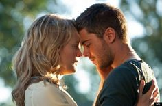 The lucky one- Zac Efron and Taylor Schilling